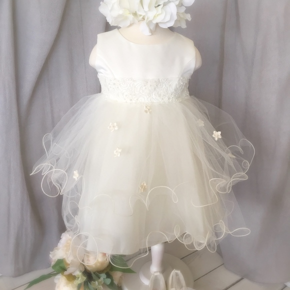 310221f6a Boutique Dresses | Blossom And Tulle Baby Baptism Flower Girl Dress ...